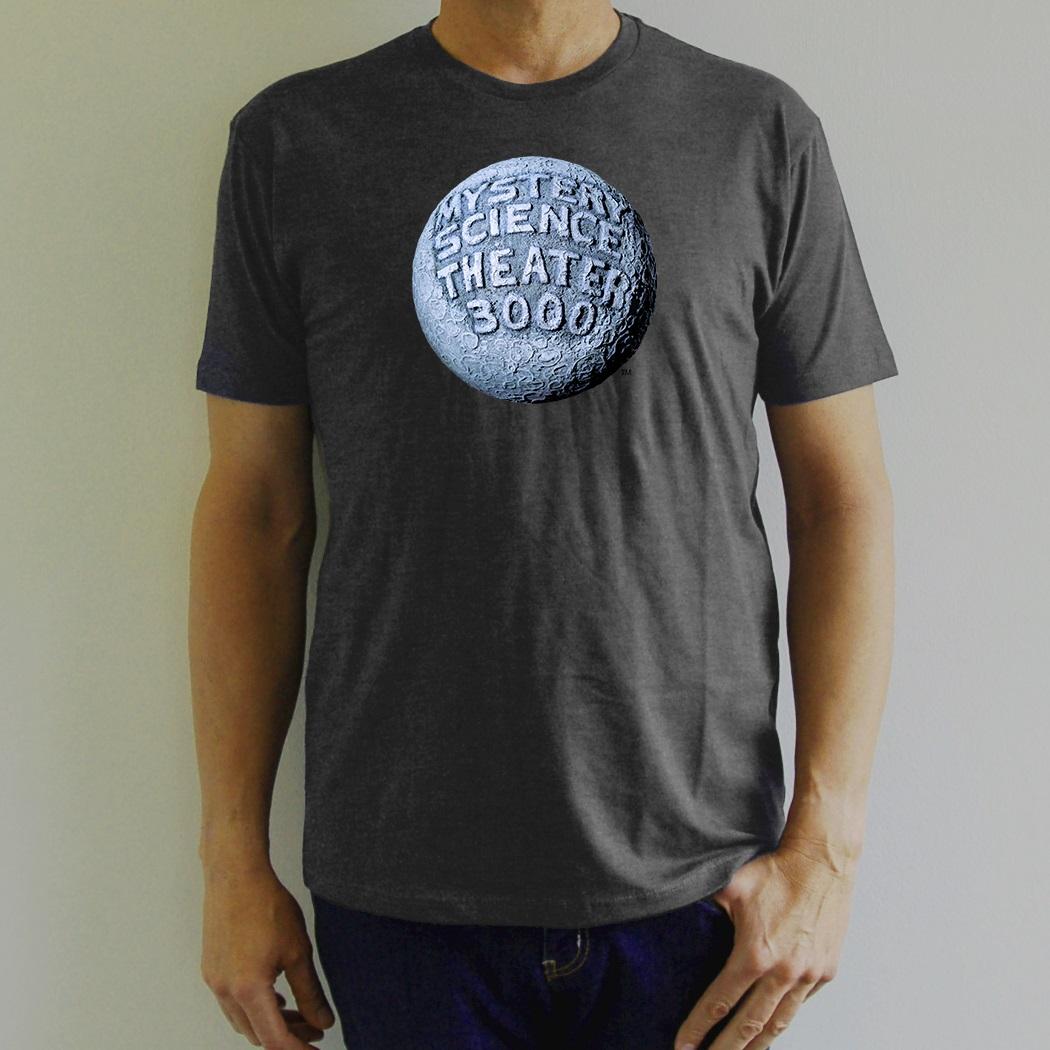 Gray Moon Logo T-Shirt main image