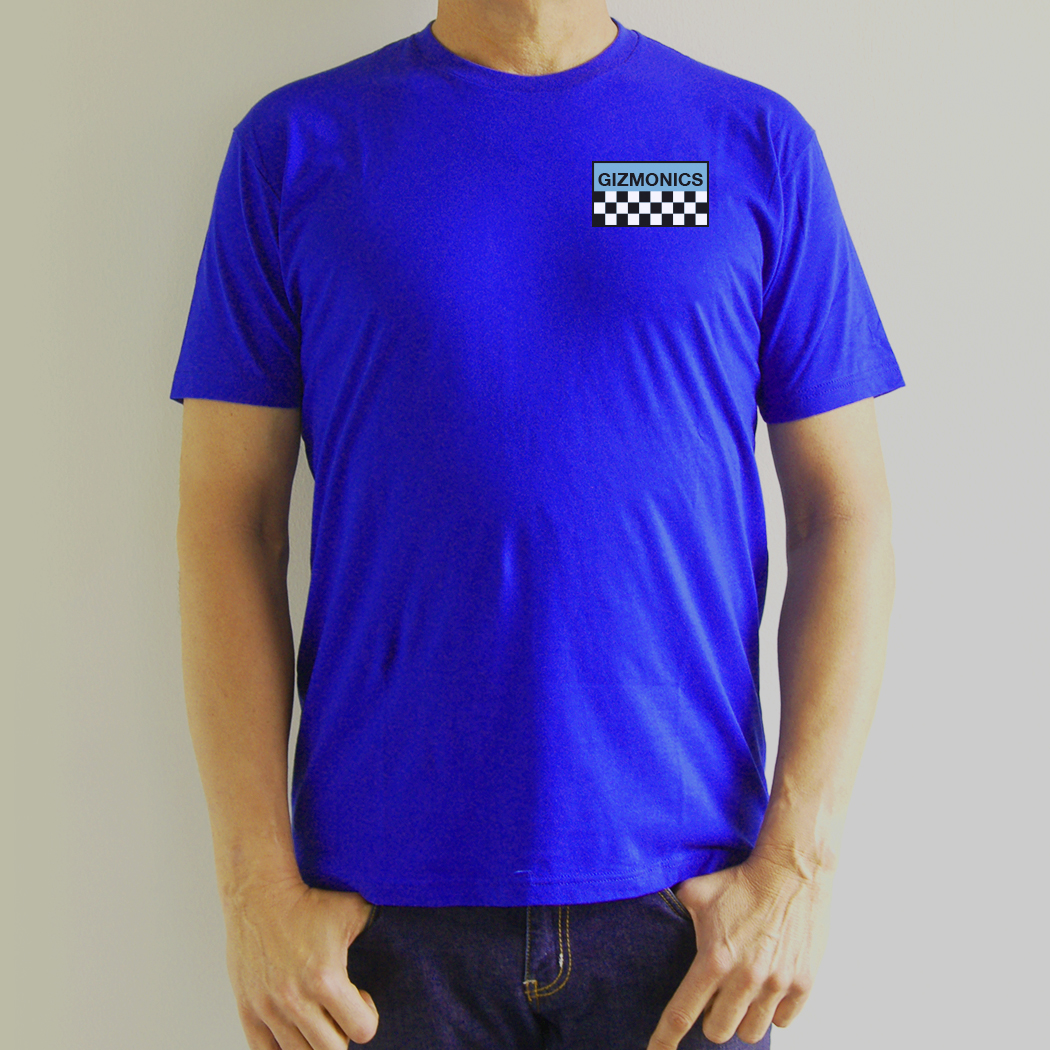Blue Gizmonic Jumpsuit T-Shirt main image