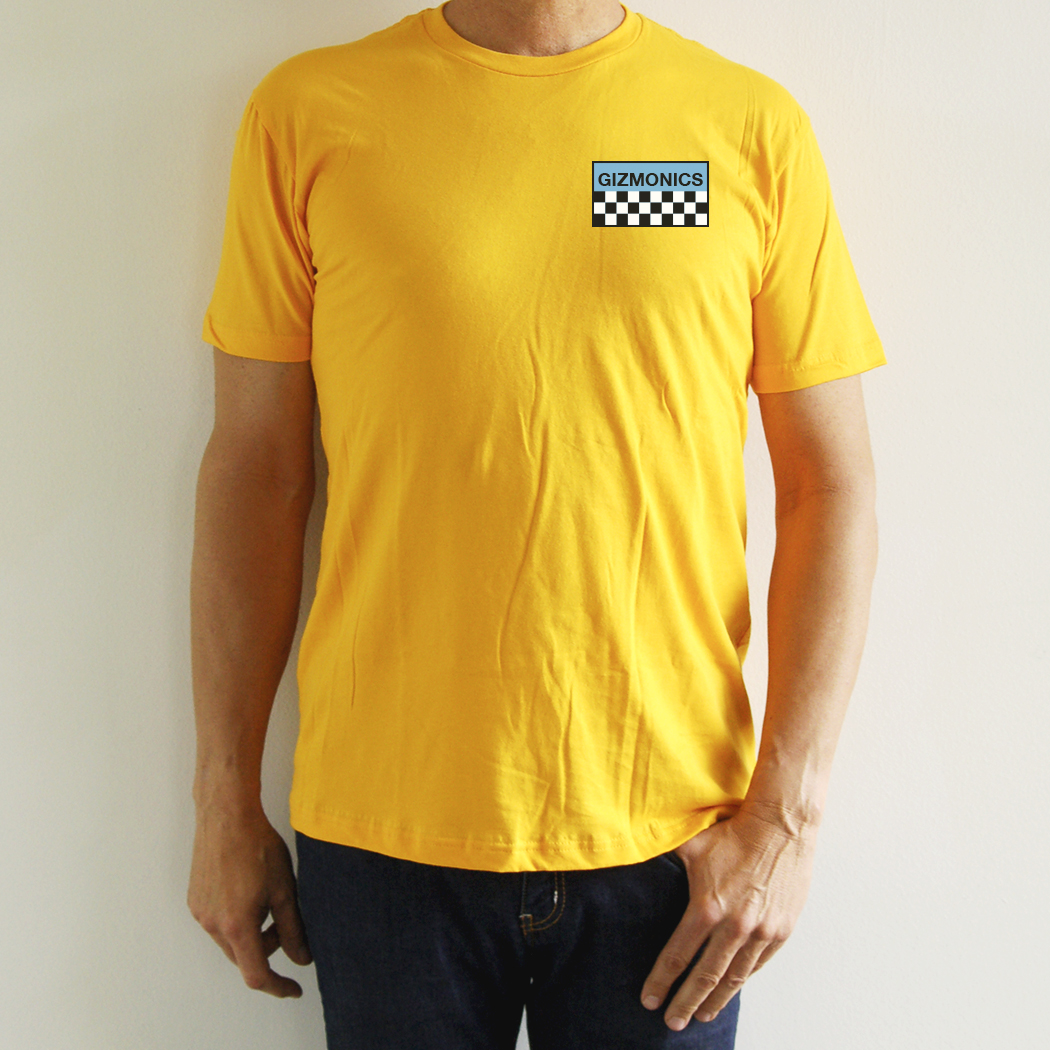 MST3K Yellow Gizmonic Jumpsuit T-Shirt main image