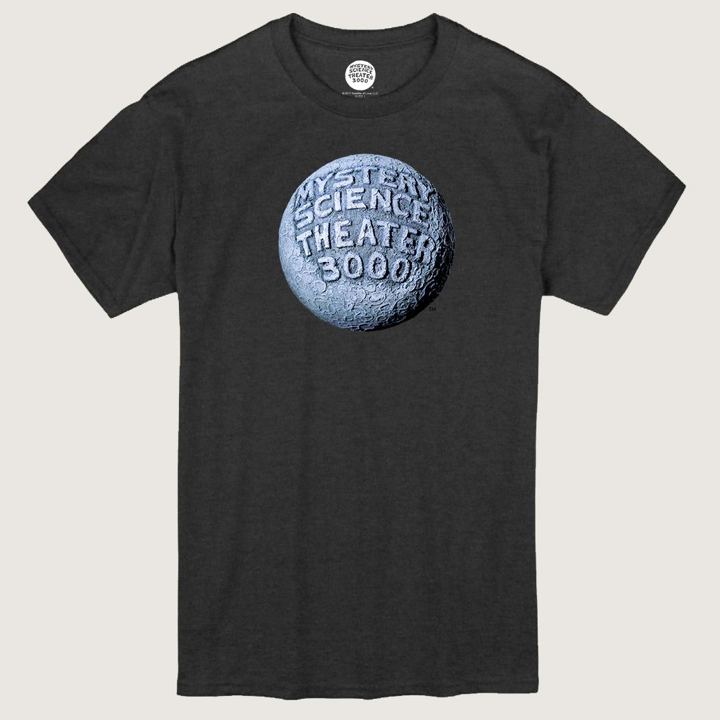 MST3K Gray Moon Logo T-Shirt thumbnail
