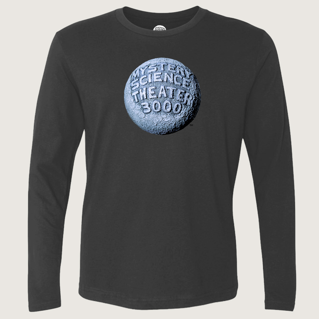 MST3K Gray Moon Logo Long Sleeve T-Shirt thumbnail