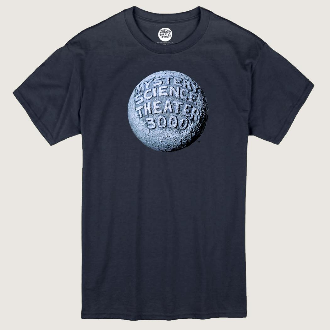 MST3K Navy Blue Moon Logo T-Shirt thumbnail