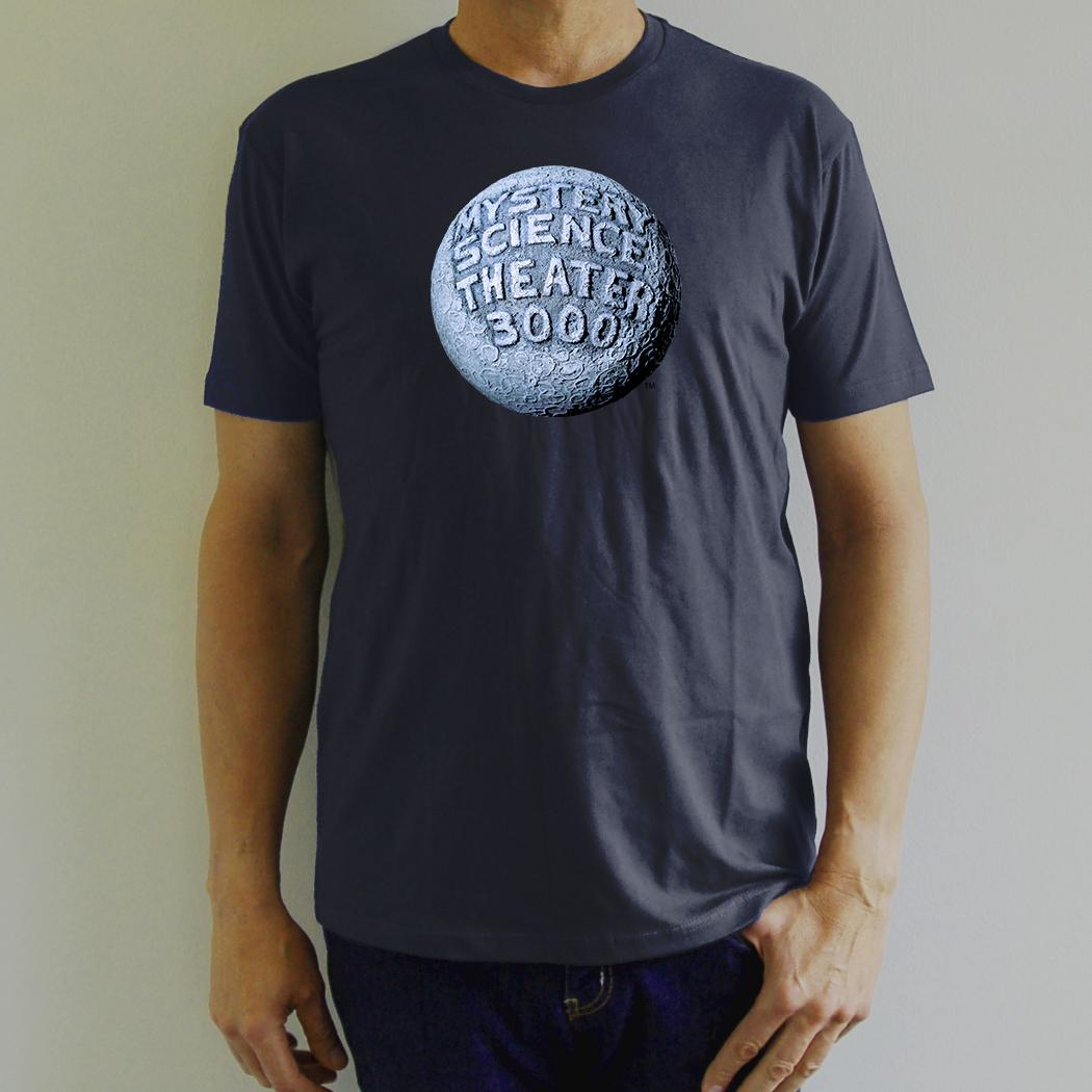 MST3K Navy Blue Moon Logo T-Shirt main image