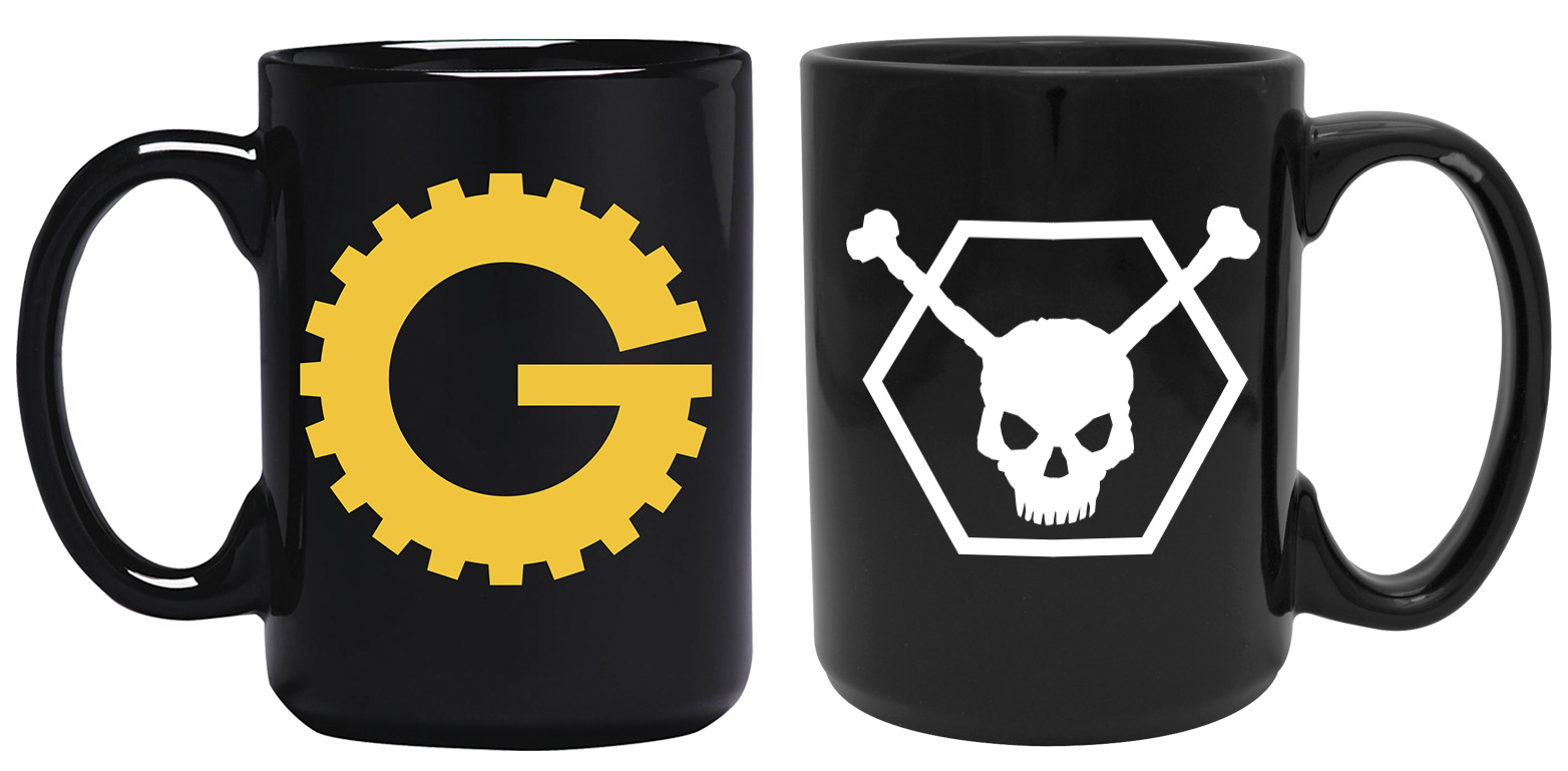 MST3K Gizmonic/Bonehead (15 Ounce Two Coffee Mug Set) main image