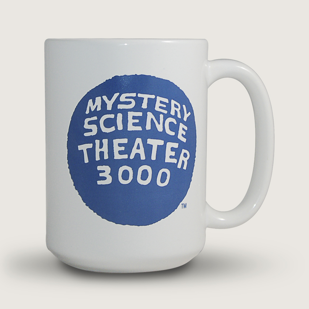 MST3K I Should Really Just Relax (15 Ounce Coffee Mug) thumbnail