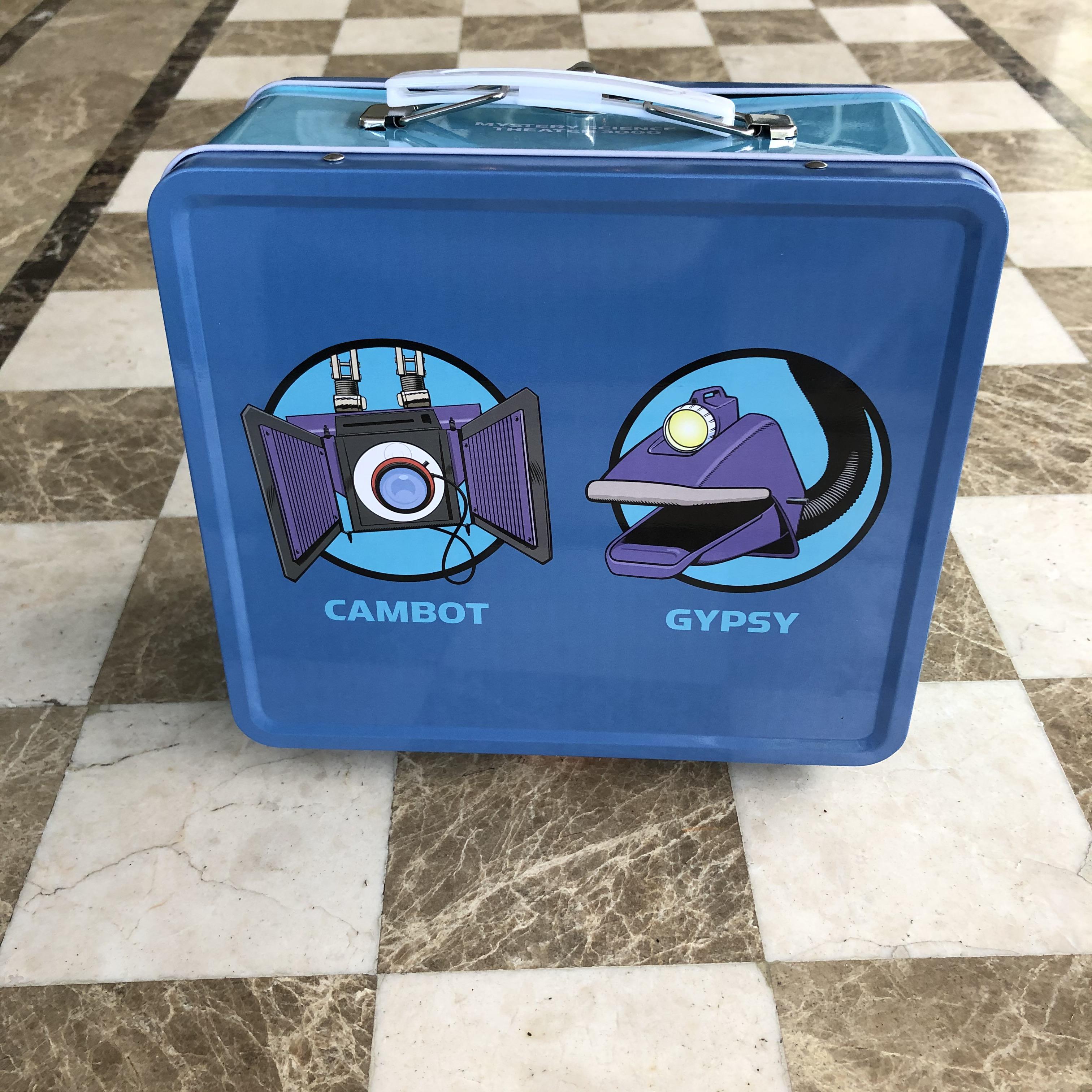 Robot Roll Call Metal Lunch Box thumbnail
