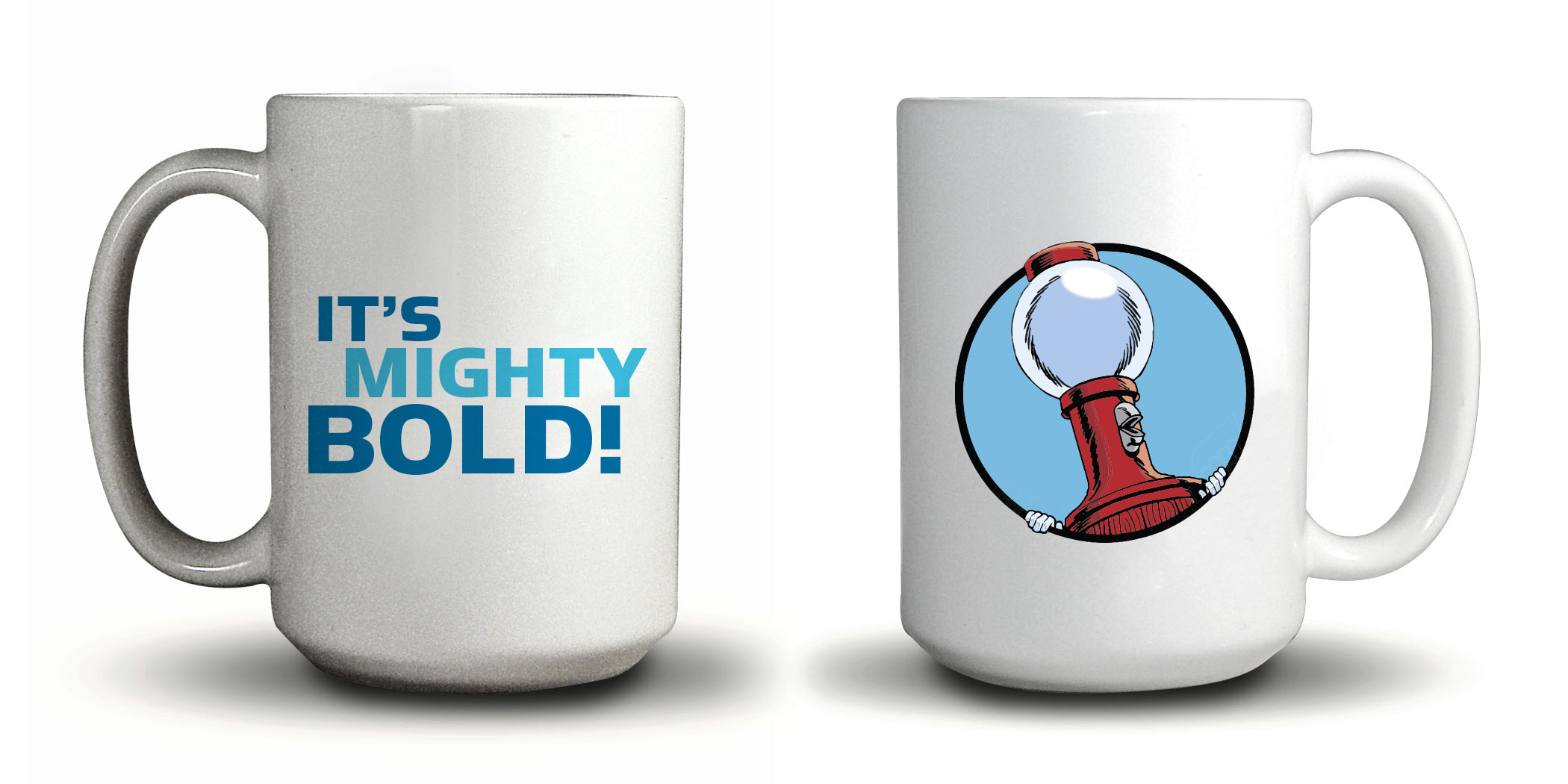MST3K Tom Servo And Crow T. Robot (15 Ounce Two Coffee Mug Set) thumbnail