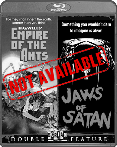 Empire Of The Ants / Jaws Of Satan [Double Feature] (SOLD OUT)