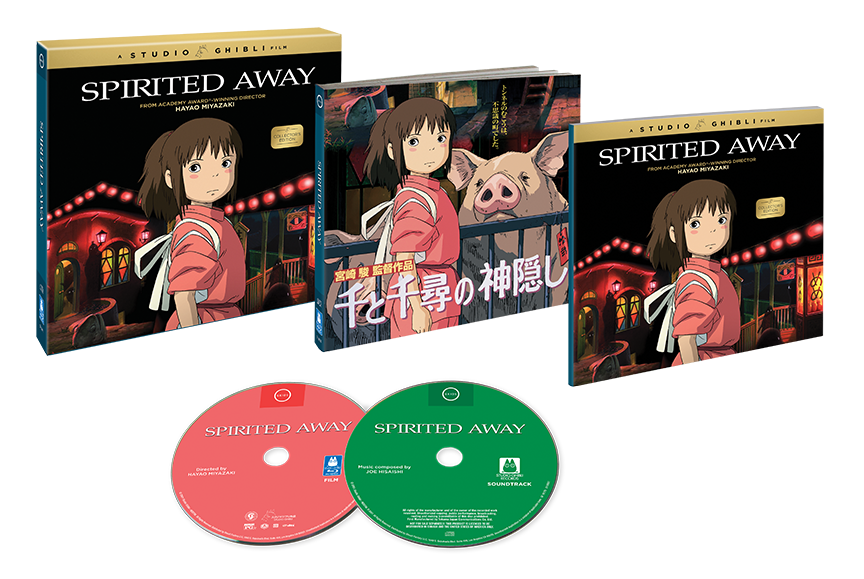 Spirited Away Collector S Edition Blu Ray Cd Studio Ghibli