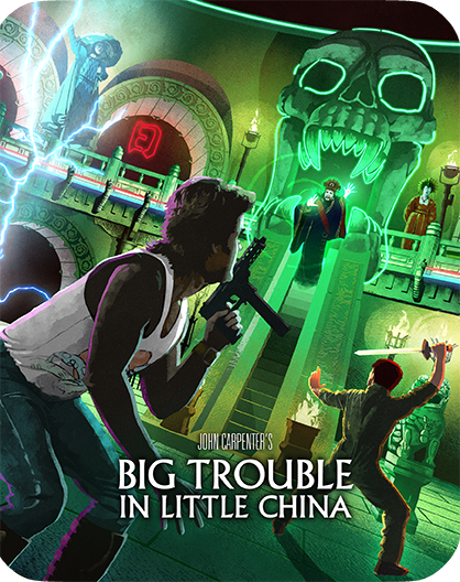 Big Trouble In Little China [Collector's Edition] + [Limited Edition Steelbook] + Exclusive Poster + Lithograph + Vinyl (SOLD OUT)