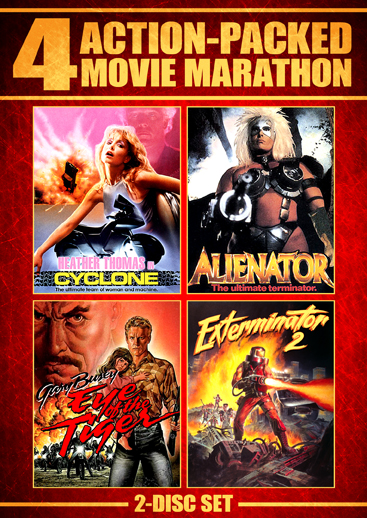 Action-Packed Movie Marathon [4 Films] (SOLD OUT)