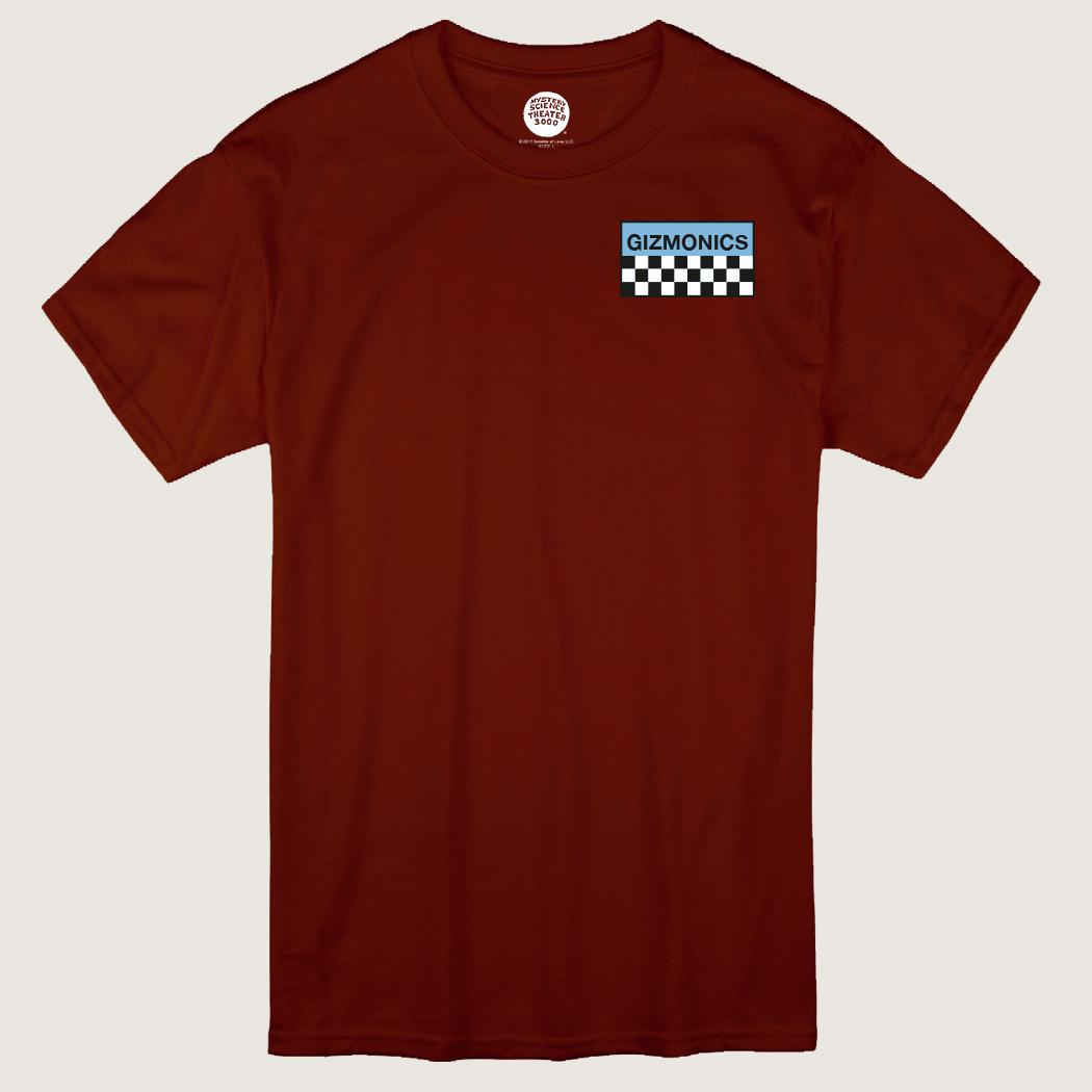 Red Women's Gizmonic Jumpsuit T-Shirt thumbnail