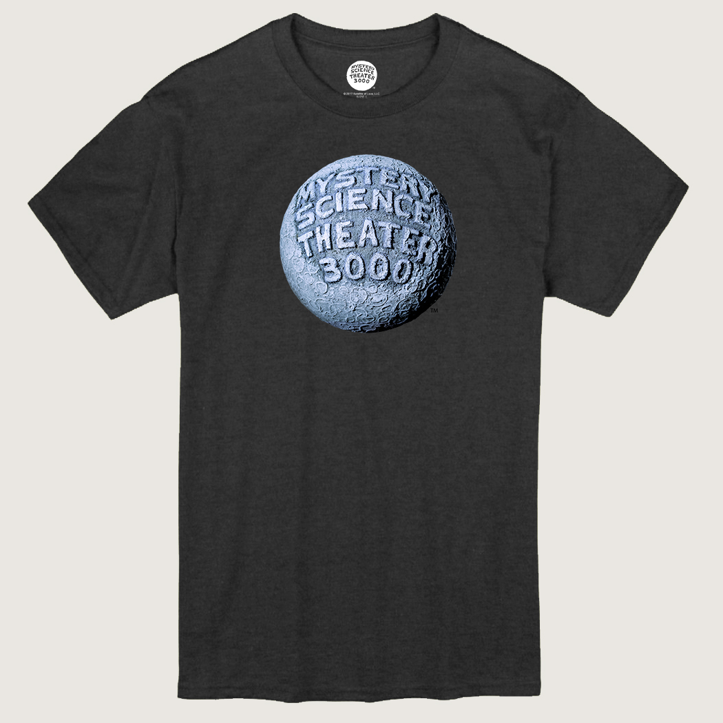 MST3K Gray Moon Logo T-Shirt thumbnail