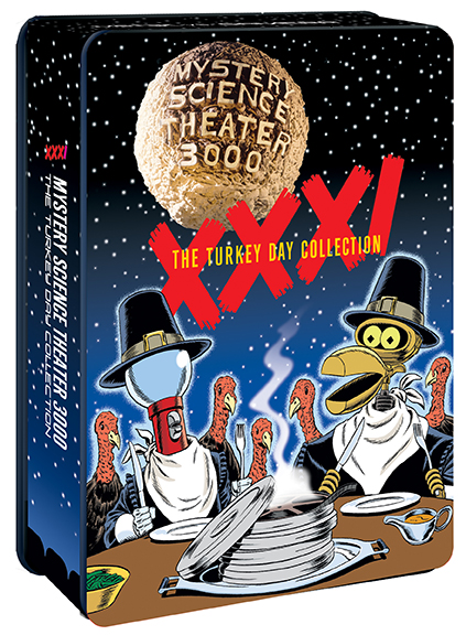 MST3K: Volume XXXI, The Turkey Day Collection [Collector's Edition Tin] product image