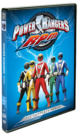 Power Rangers RPM: The Complete Series