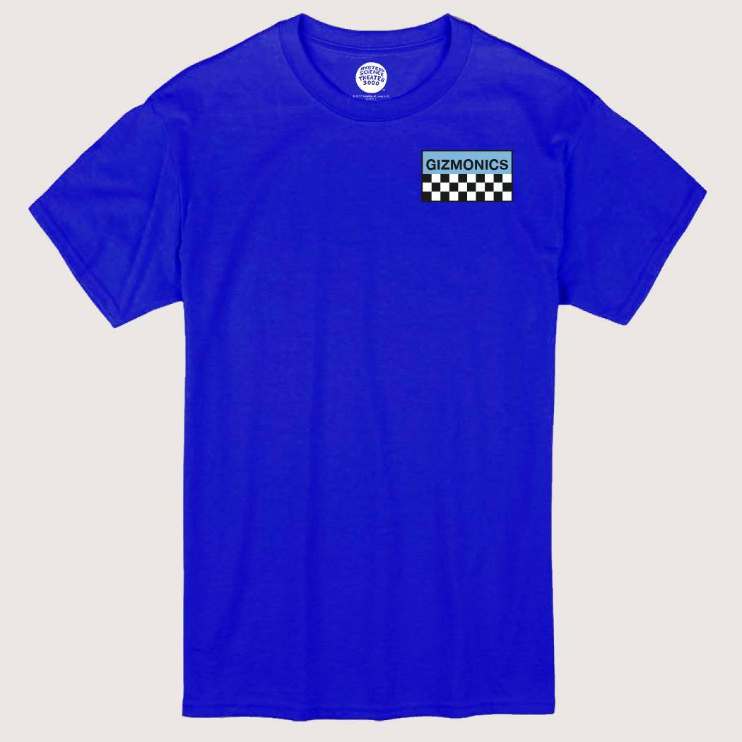 Blue Gizmonic Jumpsuit T-Shirt thumbnail