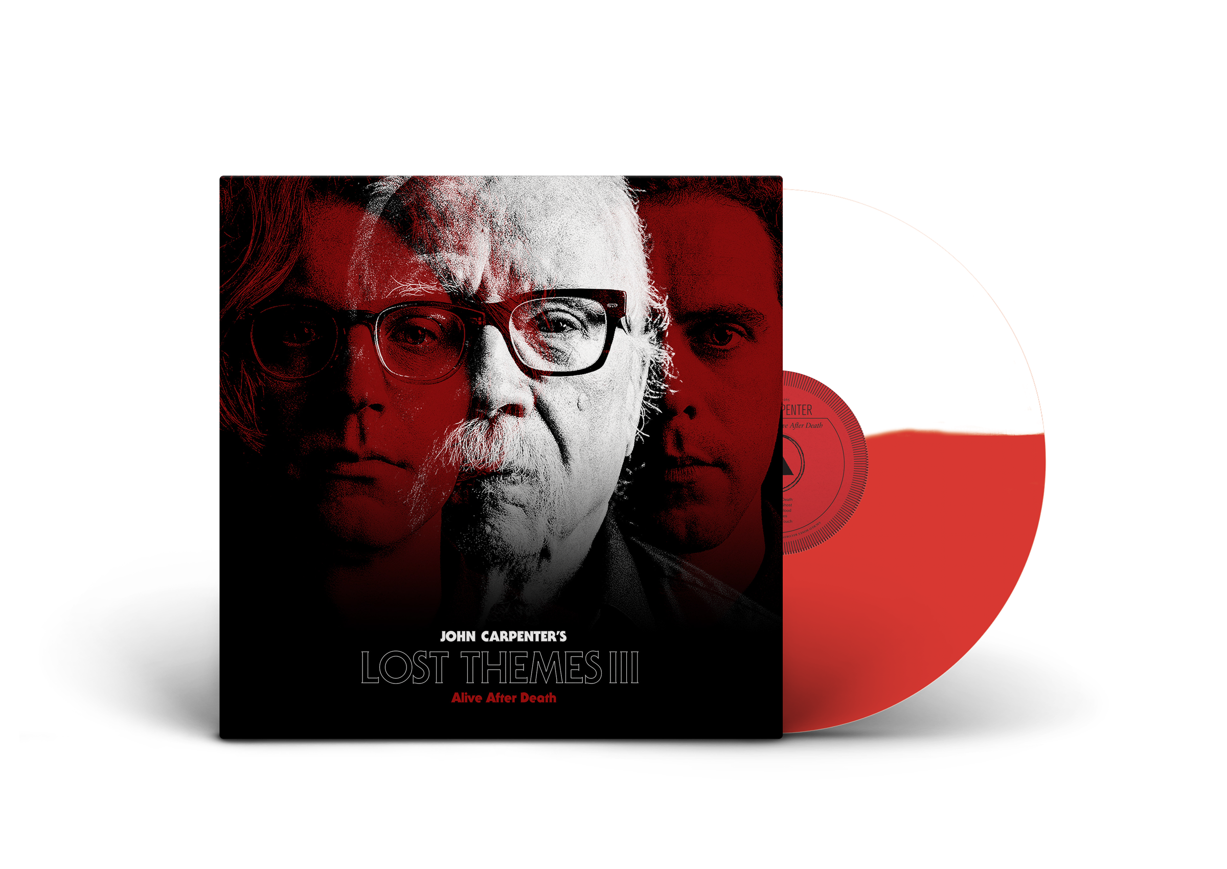Lost Themes III: Alive After Death [White/Red Vinyl]