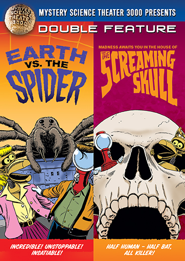 MST3K: Earth Vs. The Spider / The Screaming Skull [Double Feature] product image