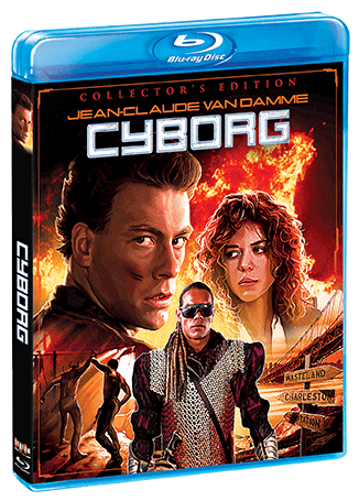 Cyborg Collectors Edition Blu Ray Shout Factory