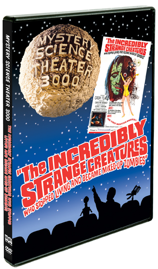 MST3K: The Incredibly Strange Creatures Who Stopped Living… product image