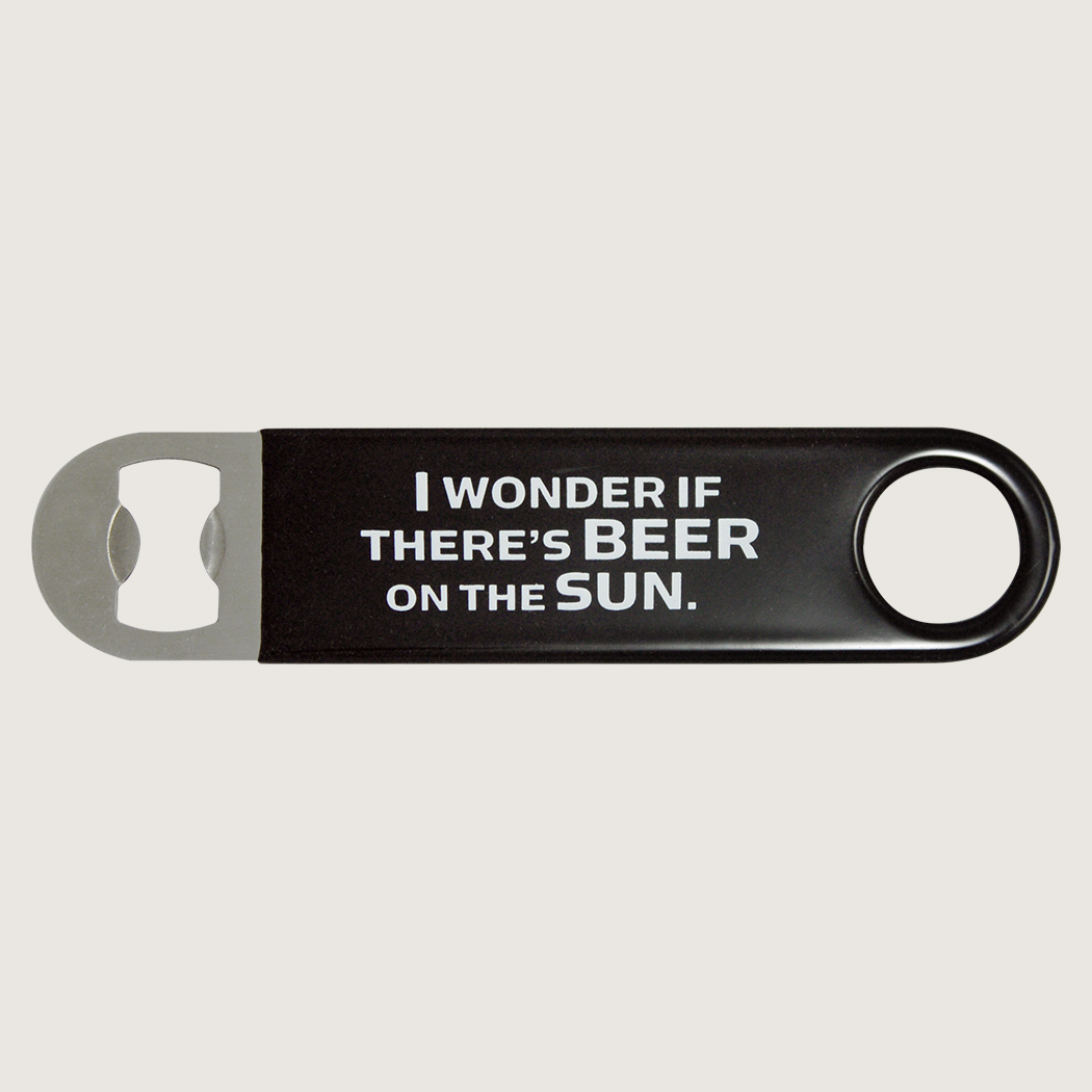 I Wonder If There's Beer On The Sun (Bottle Opener) thumbnail