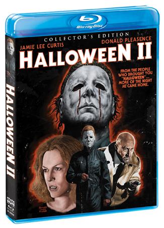 halloween ii collectors edition blu raydvd shout factory - Halloween Ii Blu Ray