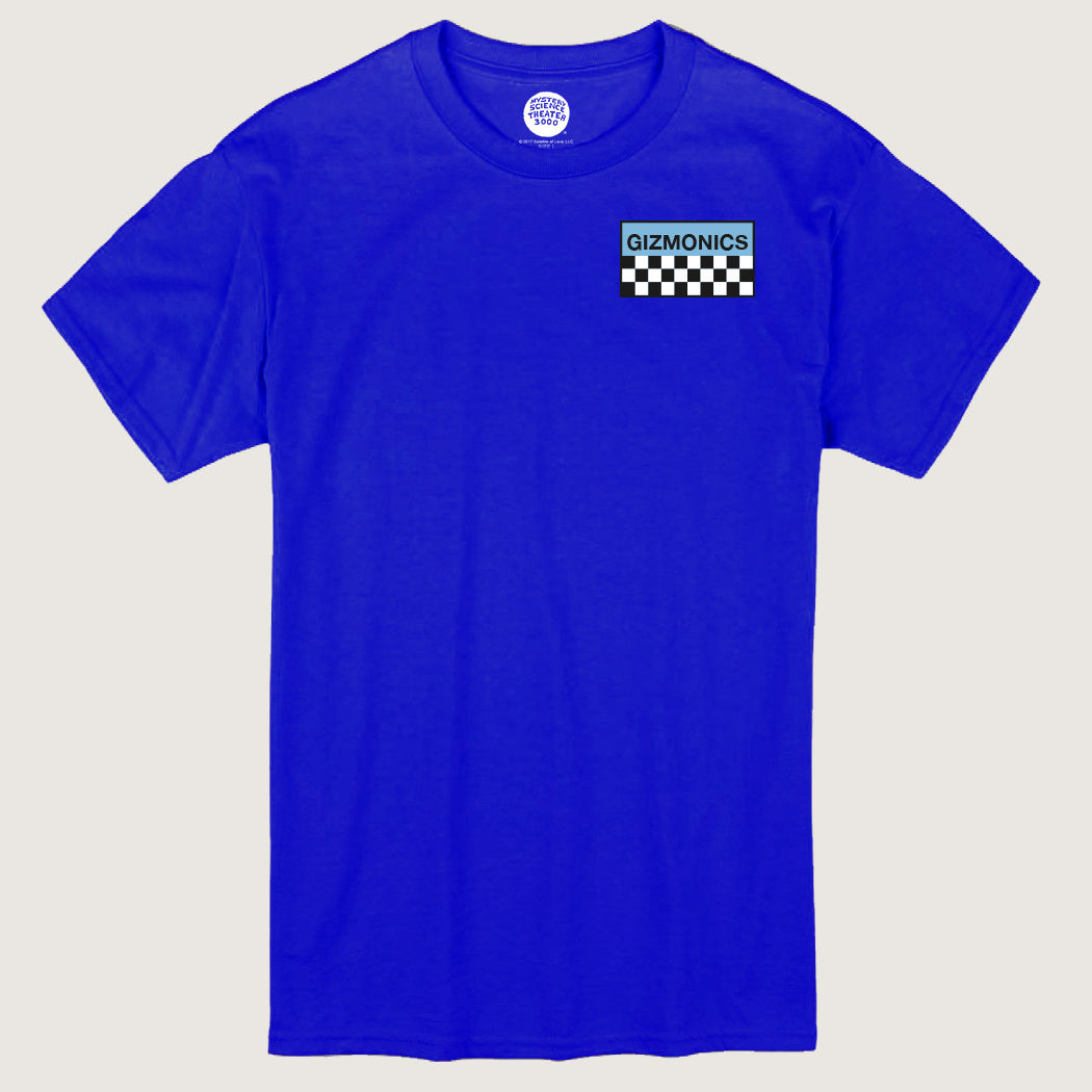 Blue Gizmonic Jumpsuit T-Shirt thumbnail