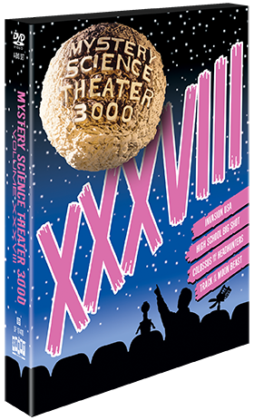 MST3K: Volume XXXVIII + Exclusive Bonus Disc product image