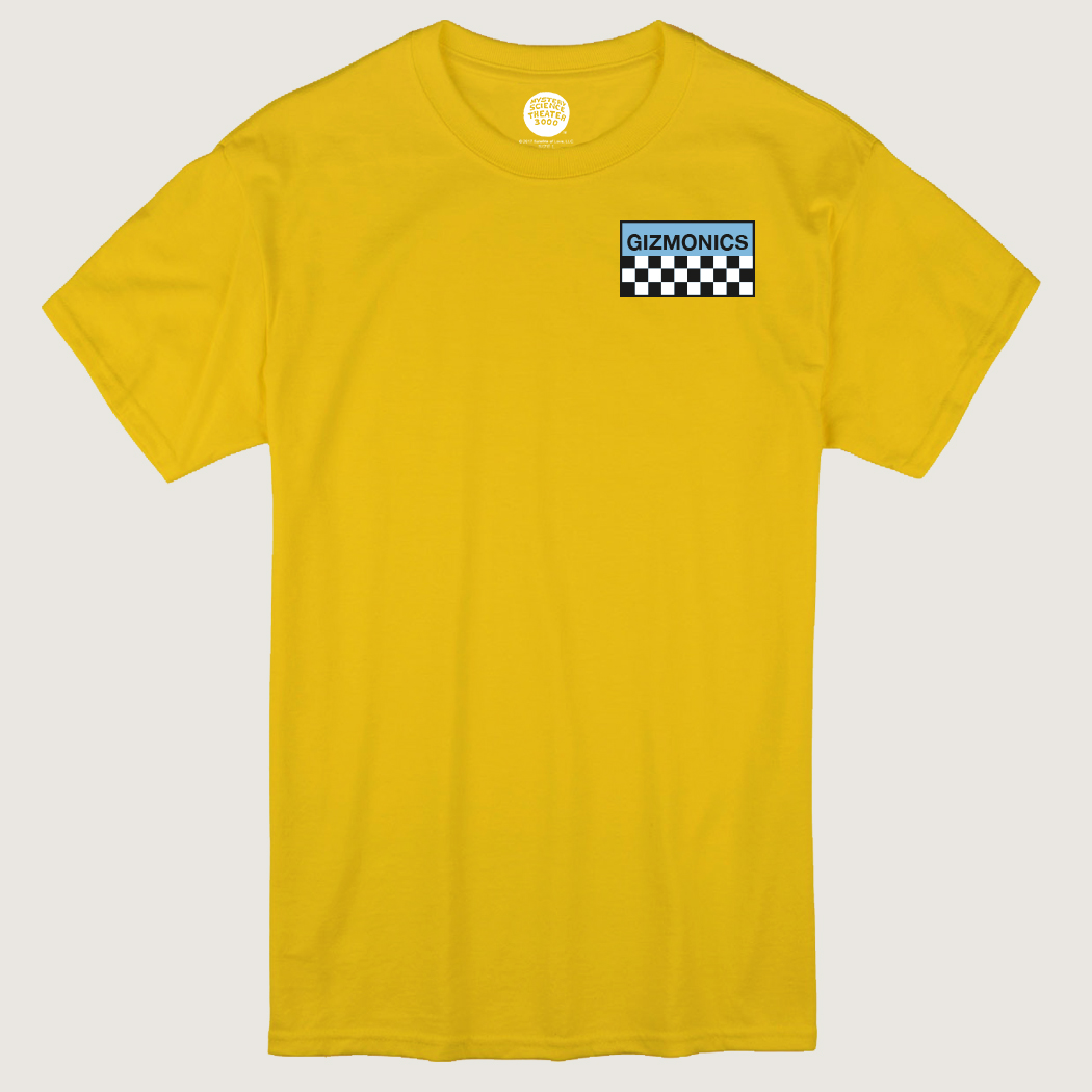 Yellow Gizmonic Jumpsuit T-Shirt thumbnail