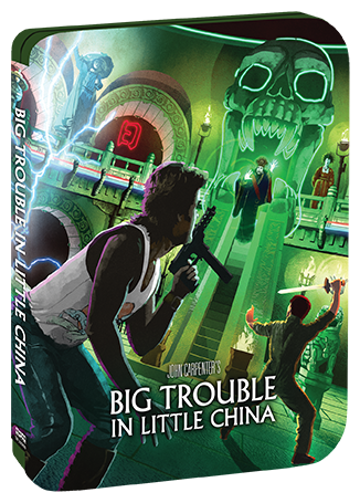 Big Trouble In Little China [Limited Edition Steelbook] + Exclusive Lithograph + Vinyl