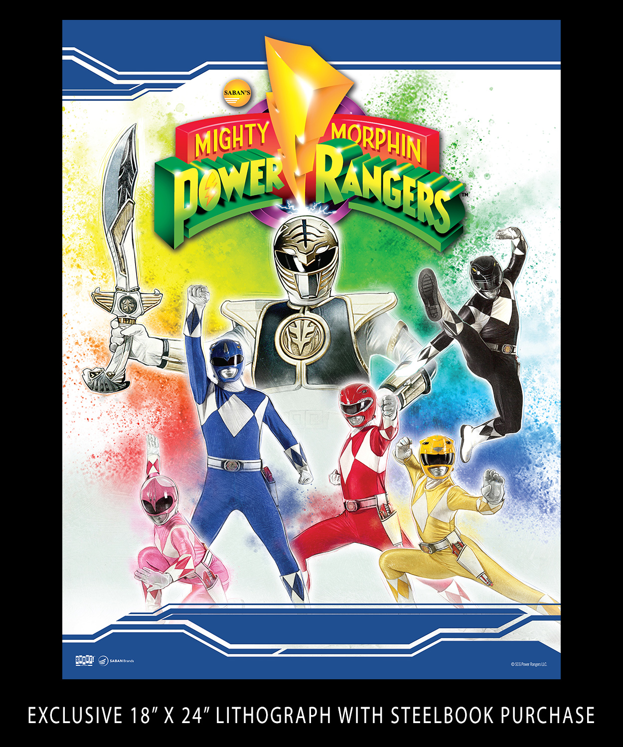 Mighty Morphin Power Rangers: The Complete Series [25th Anniversary Limited Steelbook Edition]