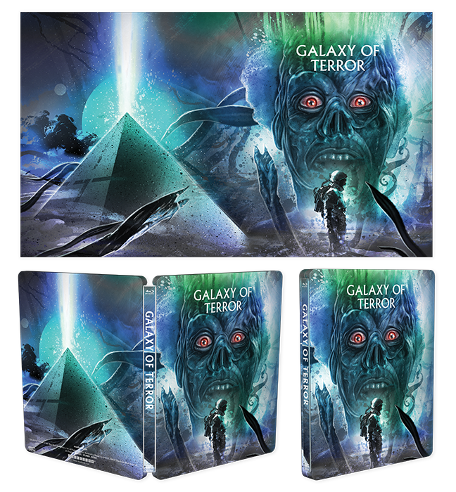 Galaxy Of Terror [Limited Edition Steelbook] + Exclusive Lithograph