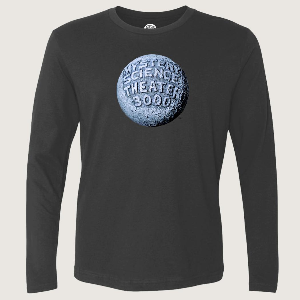 MST3K Gray Moon Logo Long Sleeve T-Shirt thumbnail