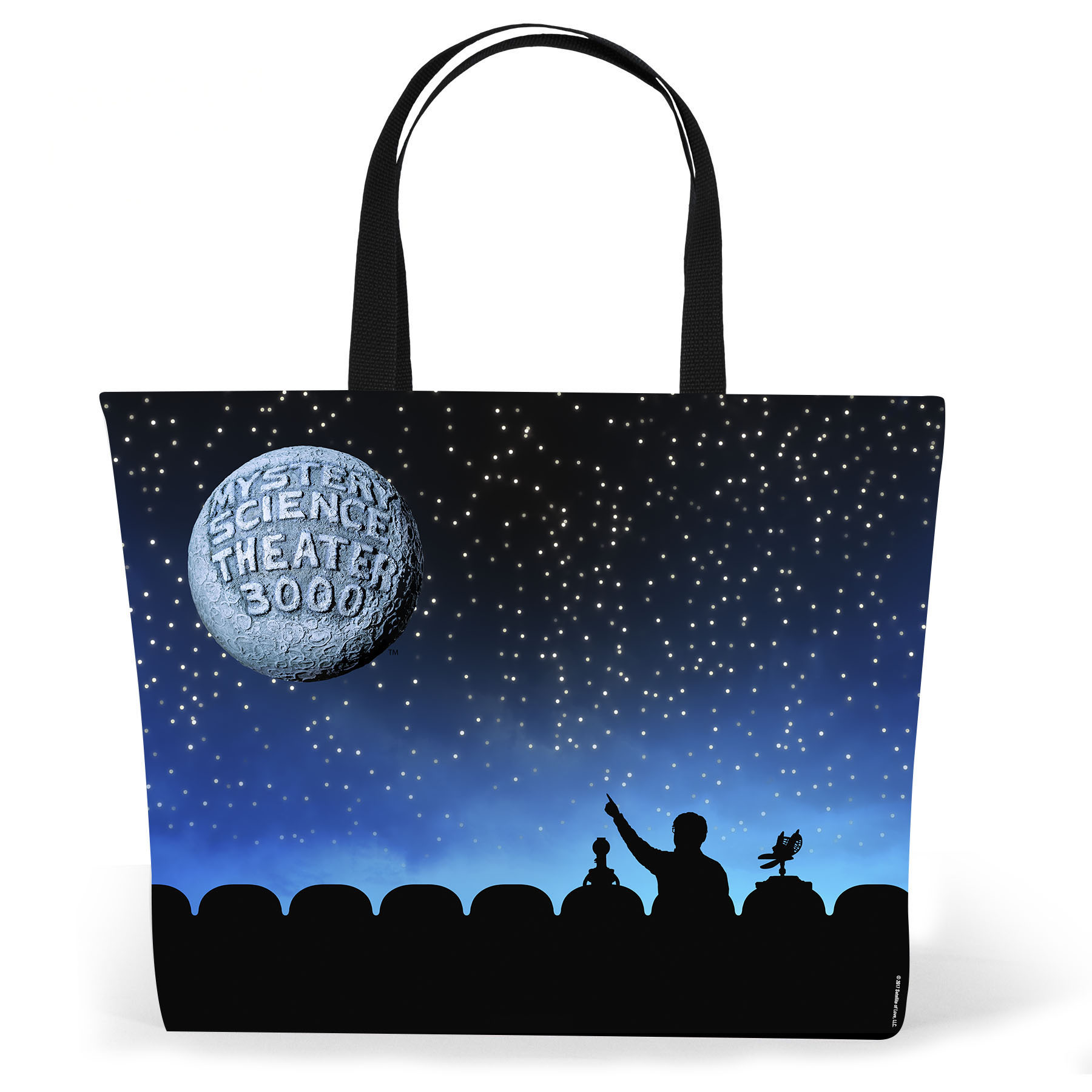 Blue MST3K Silhouette Tote main image