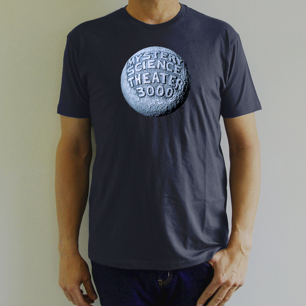 Navy Blue Moon Logo T-Shirt thumbnail