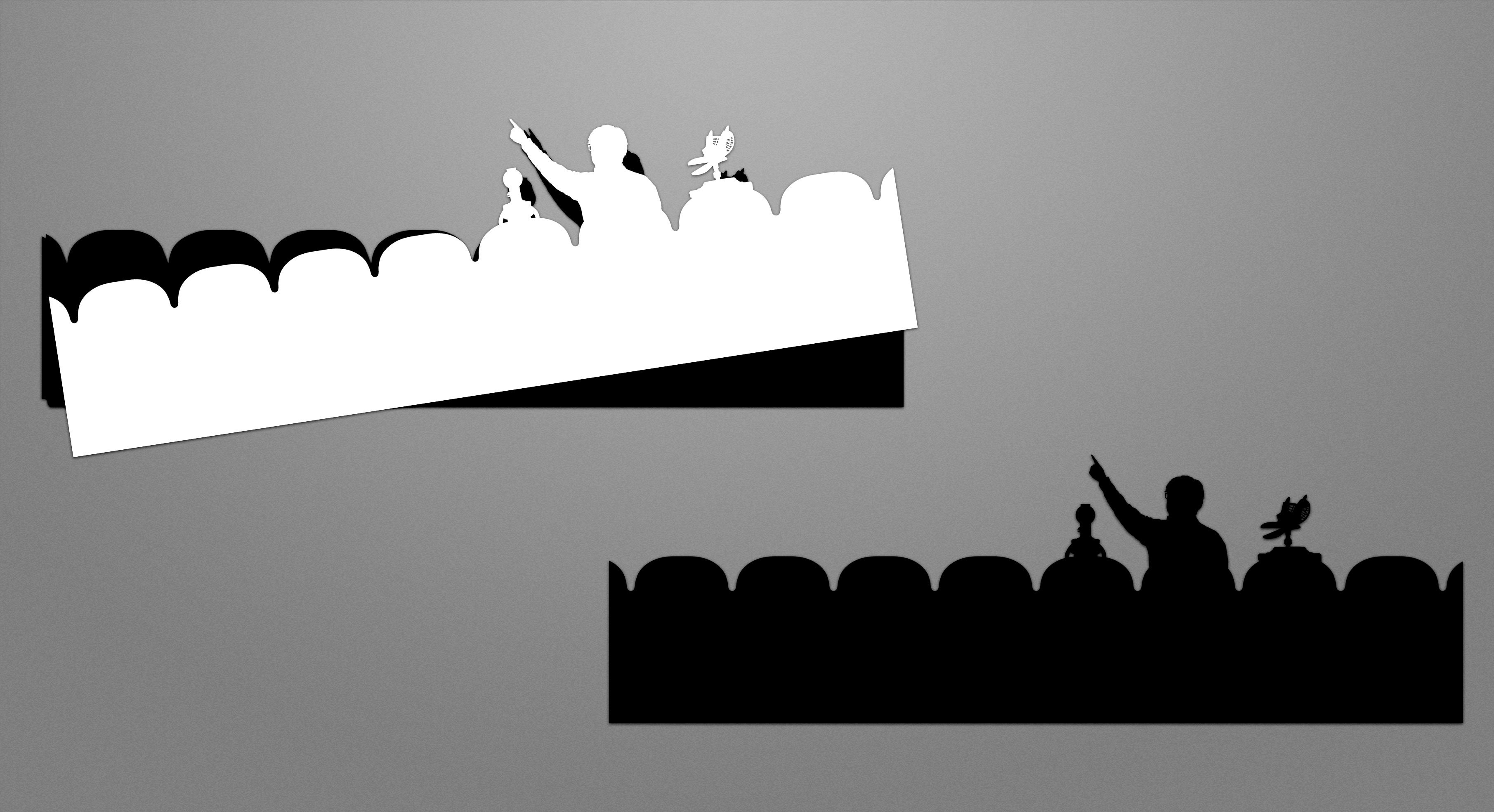 MST3K Silhouette Decal Set thumbnail