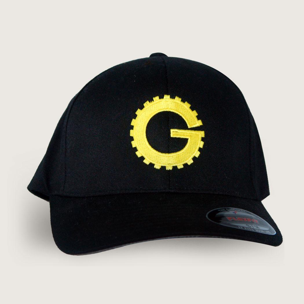 Black Gizmonic Baseball Cap (FlexFit) main image