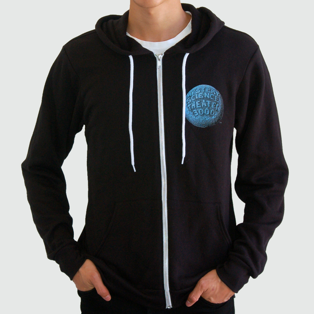 Black Robot Roll Call Hoodie main image