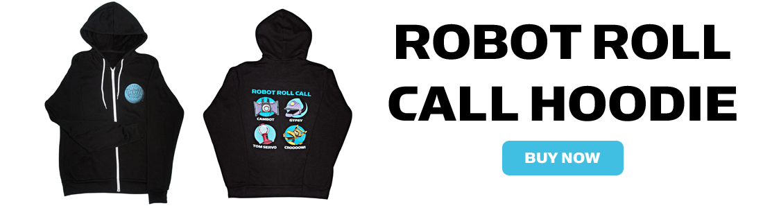 Robot Roll Call Hoodie