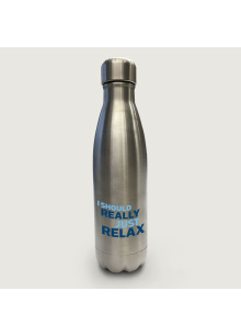 I Should Really Just Relax (17 Ounce Stainless Steel Water Bottle)