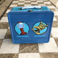 Robot Roll Call Metal Lunch Box