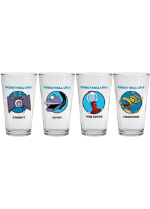 Robot Roll Call 4-Pint Glass Set