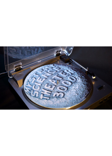 MST3K Moon Logo Turntable Slipmat