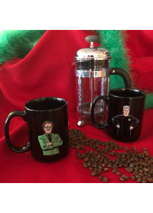 Dr. Clayton Forrester And TV's Frank (15 Ounce Two Coffee Mug Set)