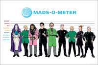 MST3K MADS Lithograph